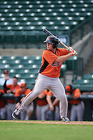 Baltimore Orioles Austin Anderson (39) during an instructional league game against the Minnesota Twins on September 22, 2015 at Ed Smith Stadium in Sarasota, Florida.  (Mike Janes/Four Seam Images)