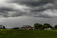 Thunder Storm over the Co. Louth golf club during Round 4 of The East of Ireland Amateur Open Championship in Co. Louth Golf Club, Baltray on Monday 3rd June 2019.<br /> <br /> Picture:  Thos Caffrey / www.golffile.ie<br /> <br /> All photos usage must carry mandatory copyright credit (© Golffile | Thos Caffrey)
