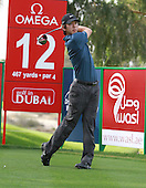 Seung-Yul Noh (KOR) during the second round of the 2013 Omega Dubai Desert Classic being played over the Majlis Golf Course, Emirates Golf Course from 31st January to 3rd February 2013: Picture Stuart Adams www.golftourimages.com/www.golffile.ie:  1st February 2013