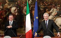 20120906 ROMA-ESTERI: MONTI RICEVE BARROSO