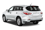 Car pictures of rear three quarter view of a 2014 Infiniti QX60 Hybrid 5 Door SUV Angular Rear