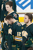 - The visiting University of Vermont Catamounts tied the Boston College Eagles 2-2 on Saturday, February 18, 2017, Boston College's senior night at Kelley Rink in Conte Forum in Chestnut Hill, Massachusetts.Vermont and BC tied 2-2 on Saturday, February 18, 2017, Boston College's senior night at Kelley Rink in Conte Forum in Chestnut Hill, Massachusetts.