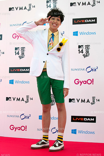 Kemio, June 14, 2014 : MTV VMAJ (Video Music Awards Japan 2014 at Maihama Amphitheater in Chiba, Japan. (Photo by Rodrigo Reyes Marin/AFLO)