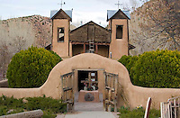 Lourdes of America in Chimayo, New Mexico is a religious site where the afflicted come to be healed by the sacred sand found on the site.