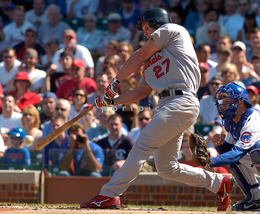 SCOTT ROLEN, of the St. Louis Cardinals, in action during the Cardinals game against the Chicago Cubs in Chicago, Illinois  on April 21, 2007....Cubs win 6-0...DAVID DUROCHIK / SPORTPICS..