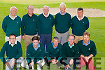 The Waterville GC Dr Billy O'Sullivan side who defeated Ardfert GC on Thursday pictured front l-r; Mike Flaherty, Aidan O'Connell, Patrick Fitz , Pat Everett, Alan Landers, back l-r; Gerry O'Malley, John Fleming, Steve Lynott, John Reardon & Dan Fitzpatrick.