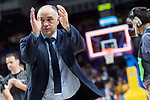Real Madrid coach Pablo Laso during Liga Endesa match between Real Madrid and Herbalife GC at Wizink Center in Madrid, Spain. December 03, 2017. (ALTERPHOTOS/Borja B.Hojas)