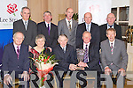 Robert and Betty Groves 2012 Overall Milk Quality Award Winner Pictured at the Lee Strand Social on Saturday night held In Ballygarry House Hotel and Spa were Front from left: John O'Sullivan, Betty Groves, Robert Groves (Ballyauckey) Brendan Walsh (Lee Strand) and Micheal O'Muircheartaigh. Back l-r: Mike Mangan (Lee Strand) Ken Jones, Donal Pierse Jerry Dwyer and John Daly..