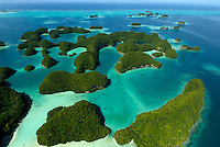 AERIAL PALAU AND 70 ISLANDS, MICRONESIA