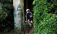 Picture by Simon Wilkinson/SWpix.com 05/09/2017 - Cycling OVO Energy Tour of Britain - Stage 3 Normanby Hall to Scunthorpe - the start at Normanby Hall, Lincolnshire<br /> Scott Thwaites