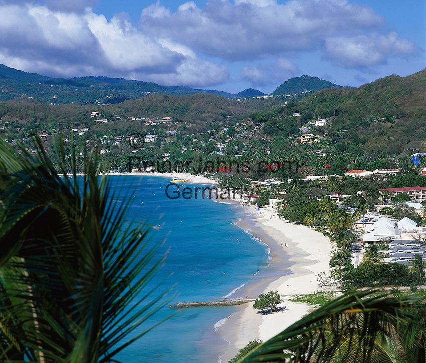 Karibik, Kleine Antillen, Grenada: Grand Anse Beach | Caribbean, Lesser Antilles, Grenada: Grand Anse Beach