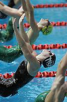 18 MAR 2006 - MELBOURNE, AUSTRALIA - Mel Marshall (ENG) - Womens 100m Backstroke final - Commonwealth Games. (PHOTO (C) NIGEL FARROW)
