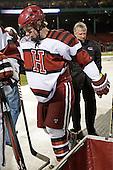 Max Everson (Harvard - 44) - The Union College Dutchmen defeated the Harvard University Crimson 2-0 on Friday, January 13, 2012, at Fenway Park in Boston, Massachusetts.