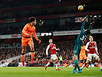 Liverpool's Philippe Coutinho scoring his sides opening goal during the premier league match at the Emirates Stadium, London. Picture date 22nd December 2017. Picture credit should read: David Klein/Sportimage