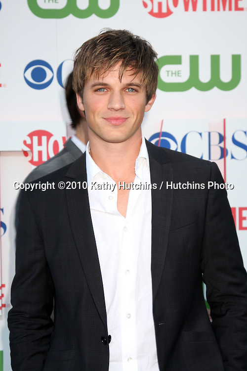 LOS ANGELES - JUL 28:  Matt Lanter arrives at the 2010 CBS, The CW, Showtime Summer Press Tour Party  at The Tent Adjacent to Beverly Hilton Hotel on July28, 2010 in Beverly Hills, CA ...