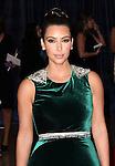 Kim Kardashian.attending the 98th Annual White House Correspondents' Association Dinner at the Washington Hilton on April 28, 2012 in Washington, DC.