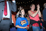 © Joel Goodman - 07973 332324 . 23/07/2016 . Salford , UK . The audience applauds as Jeremy Corbyn launches his campaign to be re-elected Labour Party leader , at the Lowry Theatre at Salford Quays . Photo credit : Joel Goodman