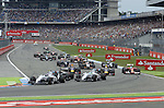 F1 Race Start<br /> for the complete Middle East, Austria &amp; Germany Media usage only!<br />  Foto &copy; nph / Mathis