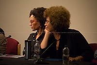 "13.12.2013 - Angela Davis & Gina Dent ""On Palestine, G4S and the Prison Industrial Complex"""