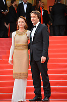 "CANNES, FRANCE. May 19, 2019: August Diehl & Valerie Pachner  at the gala premiere for ""A Hidden Life"" at the Festival de Cannes.<br /> Picture: Paul Smith / Featureflash"