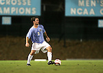 Blake Beach, of UNC, on Tuesday October 4th, 2005 at Fetzer Field on the campus of the University of North Carolina Chapel Hill in Chapel Hill, North Carolina. The UNC Tarheels defeated the Elon University Phoenix 2-1 after overtime in an NCAA Division I Men's Soccer game.