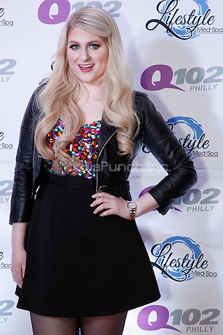 PHILADELPHIA, PA - DECEMBER 10 :  Meghan Trainor pictured during the meet and greet at Q102's Jingle Ball at the Wells Fargo Center in Philadelphia, Pa on December 10, 2014  photo credit House Coverage Star Shooter / MediaPunch