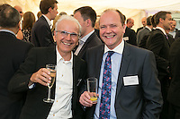 The cheerful couple - Franco Ciaurro of CEMA and Carl Dickinson of Yorkshire Bank