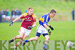 Cordal's Jamie Cahill and Daugh's Daniel O'Donoghue.