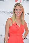 Emilie Dupuis during the 55th Monte Carlo TV Festival on June 15, 2015 in Monte-Carlo, Monaco