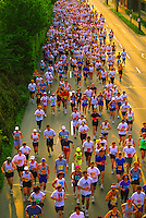 Runners competing in the Vancouver Marathon, British Columbia, Canada.                       No Releases