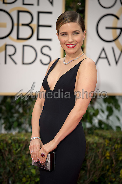 Sophia Bush, presenter, arrives at the 73rd Annual Golden Globe Awards at the Beverly Hilton in Beverly Hills, CA on Sunday, January 10, 2016. Photo Credit: HFPA/AdMedia