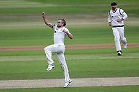 David Willey of Yorkshire celebrates taking the wicket of Tom Westley during Yorkshire CCC vs Essex CCC, Specsavers County Championship Division 1 Cricket at Emerald Headingley Cricket Ground on 5th June 2019