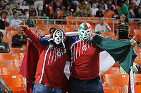 Chivas USA fans.  Chivas USA defeated DC United 2-0  at RFK Stadium, Saturday October 3, 2009.