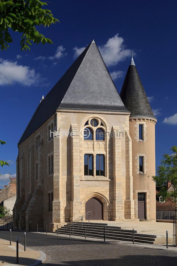 France, Indre (36), Argenton-sur-Creuse, église Saint-Étienne // France, Indre, Argenton sur Creuse, Saint Etienne church