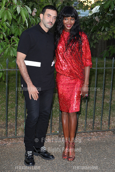 Naomi Campbell arriving for the Serpentine Summer Party, at the Serpentine Gallery, Hyde Park, London. 01/07/2014 Picture by: Alexandra Glen / Featureflash