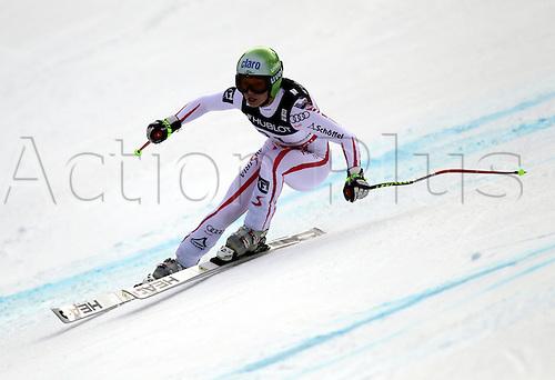 11.02.2011  FIS ALPINE WORLD SKI CHAMPIONSHIPS. FENNINGER Anna in Garmisch-Partenkirchen, Germany.