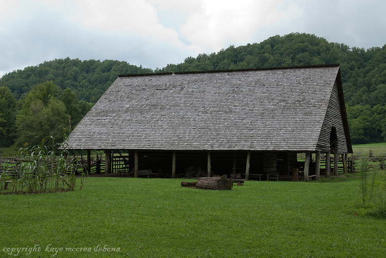 """Day trip to Cherokee, NC.  Images are of recreated 1800 village, farm animals, Cherokee council lodge and images from """"Unto these Hills""""."""