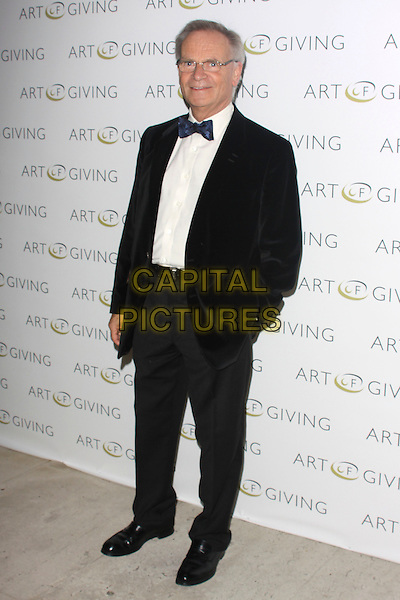 LORD JEFFREY ARCHER .at The Art Of Giving - Private View, Saatchi Gallery, London, England, UK, October 7th 2010..full length white tuxedo tux black bow tie glasses blue hand in pocket.CAP/AH.©Adam Houghton/Capital Pictures.