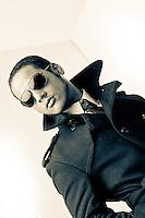 Casting model photos Casey Little.