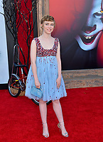 "LOS ANGELES, USA. August 27, 2019: Sophia Lillis at the premiere of ""IT Chapter Two"" at the Regency Village Theatre.<br /> Picture: Paul Smith/Featureflash"
