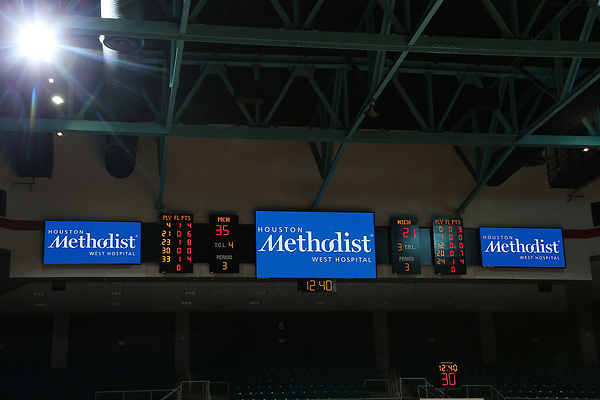 DENTON, TX - MARCH 8: McNeese State University v Nicholls Womens Basketball during the Southland Conference basketball Tournament Game 2 at Merrell Center in Katy on March 8, 2017 in Katy, Texas. (Photo by Rick Yeatts)