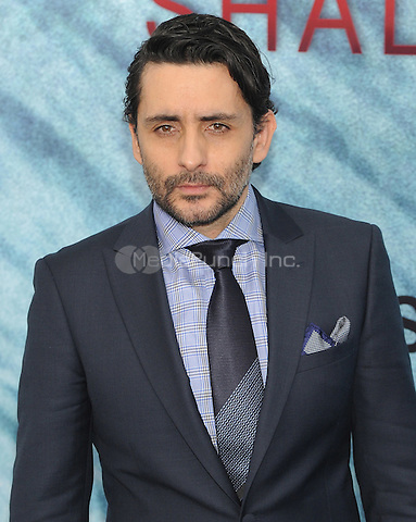 """NEW YORK, NY - June 21: Jaume Collet-Serra attends the NEw York premiere for """"The Shallow"""" at the Loews AMC on June 21, 2016   in New York City .  Photo Credit: John Palmer/ MediaPunch"""