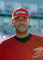Chris Dominguez of the Salem-Keizer Volcanoes..Photo by:  Bill Mitchell/Four Seam Images..