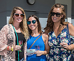 Sarah, Kelly and Colleen during the Reno Wine Walk in downtown Reno on Saturday, June 17, 2017.