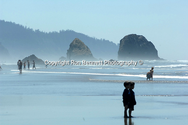 "Children play on beach at Roads End Lincoln City Oregon Children play Pacific Ocean Oregon, Oregon Coast, coastline, Pacific coast, shoreline, sea cliffs, beaches, stacks, Pacific Northwest, Pacific Ocean,  Fine art Photography and Stock Photography by Ronald T. Bennett Photography ©, FINE ART and STOCK PHOTOGRAPHY FOR SALE, CLICK ON  ""ADD TO CART"" FOR PRICING, Fine Art Photography by Ron Bennett, Fine Art, Fine Art photography, Art Photography, Copyright RonBennettPhotography.com © Fine Art Photography by Ron Bennett, Fine Art, Fine Art photography, Art Photography, Copyright RonBennettPhotography.com ©"