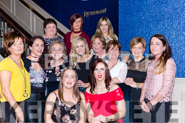 Friends Aileen Reen Rathmore and Kerrie Beckett Killarney celebrate their recent engagements with their friends in Murphys bar Killarney on Friday night l-r: Tessa O'Connor, Mags Cronin, Anne Cosman, Claire Buckley, helen Brosnan, Joan O'Brien, Sheila Cronin and Karen Leane