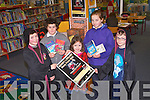 HARRY POTTER QUIZ: Launching the Kerry County Library Harry Potter quiz as part of World Book Day at the Kerry County Library, Tralee on Tuesday l-r: Tadhg Ó Harragháin, Archie O'Donovan, Faye O'Carroll, Laura Harty and Ben O'Carroll.