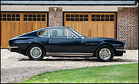 BNPS.co.uk (01202 558833)<br /> Pic: Silverstone/BNPS<br /> <br /> Ah-ha - £165,000 buys you comedian Steve Coogan's beloved Aston Martin DBS supercar.<br /> <br /> The Alan Partridge creator, who is an avid car collector, has owned the four-seater dark blue 1970 Aston Martin DBS V8 since 2011.<br /> <br /> This particular example was the original factory press car used to launch the new V8 model. In 1971, it was taken onto the unfinished M4 and tested over a mile, clocking at an impressive average speed of 160mph.<br /> <br /> Coogan's Partridge character used to drive a beige Rover 800 which was famously grafittied with 'C*ck P*ss Partridge', and he also bought a Lexus IS300 he fondly referred to as 'the Japanese Mercedes' before driving straight into a bollard.