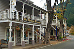 Downtown Downieville, Sierra County, California