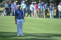 Shubhankar Sharma (IND) looks over his approach shot on 2  during round 4 of the World Golf Championships, Mexico, Club De Golf Chapultepec, Mexico City, Mexico. 3/4/2018.<br /> Picture: Golffile | Ken Murray<br /> <br /> <br /> All photo usage must carry mandatory copyright credit (&copy; Golffile | Ken Murray)